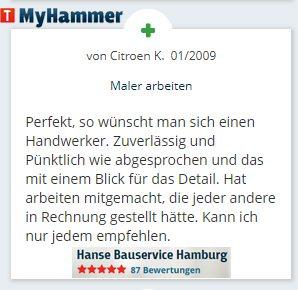 Myhammer Bewertung - Firma Krüll-Citroen